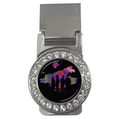 Abstract Surreal Sunset Money Clips (cz)  by Nexatart