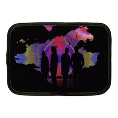 Abstract Surreal Sunset Netbook Case (medium)  by Nexatart