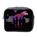 Abstract Surreal Sunset Mini Toiletries Bag 2-Side Front