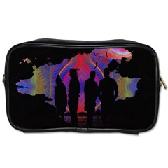 Abstract Surreal Sunset Toiletries Bags by Nexatart