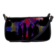 Abstract Surreal Sunset Shoulder Clutch Bags by Nexatart