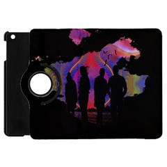 Abstract Surreal Sunset Apple Ipad Mini Flip 360 Case