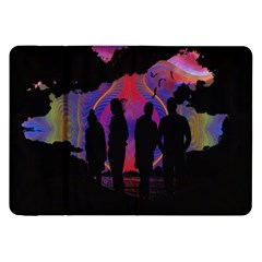 Abstract Surreal Sunset Samsung Galaxy Tab 8 9  P7300 Flip Case by Nexatart