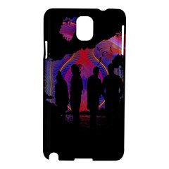 Abstract Surreal Sunset Samsung Galaxy Note 3 N9005 Hardshell Case by Nexatart