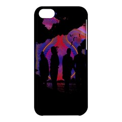 Abstract Surreal Sunset Apple Iphone 5c Hardshell Case by Nexatart
