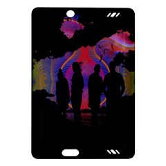 Abstract Surreal Sunset Amazon Kindle Fire Hd (2013) Hardshell Case
