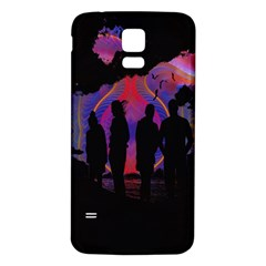 Abstract Surreal Sunset Samsung Galaxy S5 Back Case (white) by Nexatart