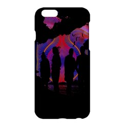 Abstract Surreal Sunset Apple Iphone 6 Plus/6s Plus Hardshell Case by Nexatart