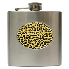 A Jaguar Fur Pattern Hip Flask (6 Oz)