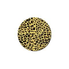 A Jaguar Fur Pattern Golf Ball Marker (10 Pack)