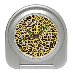 A Jaguar Fur Pattern Travel Alarm Clocks