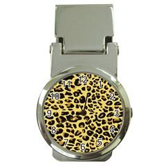 A Jaguar Fur Pattern Money Clip Watches