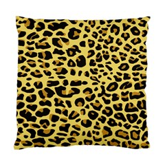 A Jaguar Fur Pattern Standard Cushion Case (two Sides) by Nexatart