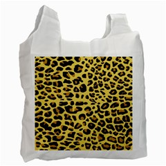 A Jaguar Fur Pattern Recycle Bag (two Side)