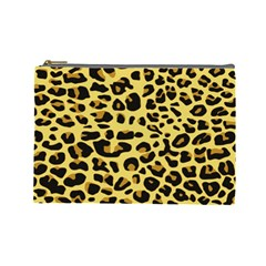 A Jaguar Fur Pattern Cosmetic Bag (large)  by Nexatart
