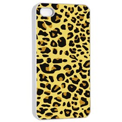 A Jaguar Fur Pattern Apple Iphone 4/4s Seamless Case (white)