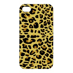 A Jaguar Fur Pattern Apple Iphone 4/4s Premium Hardshell Case by Nexatart