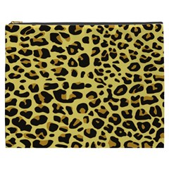 A Jaguar Fur Pattern Cosmetic Bag (xxxl)  by Nexatart
