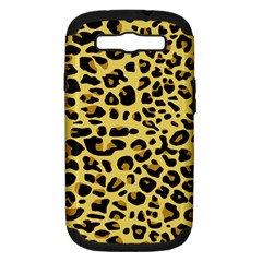 A Jaguar Fur Pattern Samsung Galaxy S Iii Hardshell Case (pc+silicone) by Nexatart