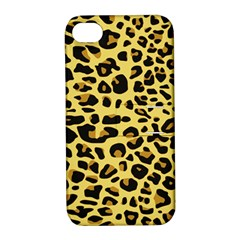 A Jaguar Fur Pattern Apple Iphone 4/4s Hardshell Case With Stand by Nexatart