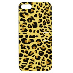 A Jaguar Fur Pattern Apple Iphone 5 Hardshell Case With Stand by Nexatart