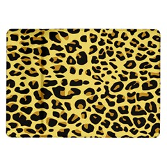 A Jaguar Fur Pattern Samsung Galaxy Tab 10 1  P7500 Flip Case by Nexatart