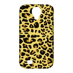 A Jaguar Fur Pattern Samsung Galaxy S4 Classic Hardshell Case (pc+silicone) by Nexatart