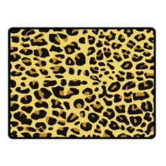 A Jaguar Fur Pattern Double Sided Fleece Blanket (small)