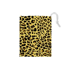 A Jaguar Fur Pattern Drawstring Pouches (small)