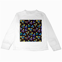 Bees Animal Insect Pattern Kids Long Sleeve T Shirts