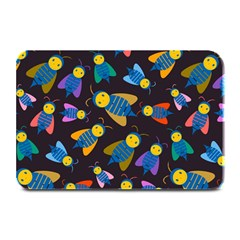 Bees Animal Insect Pattern Plate Mats by Nexatart