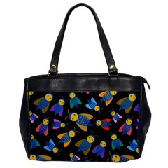 Bees Animal Insect Pattern Office Handbags by Nexatart