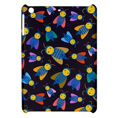 Bees Animal Insect Pattern Apple Ipad Mini Hardshell Case by Nexatart