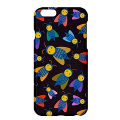 Bees Animal Insect Pattern Apple Iphone 6 Plus/6s Plus Hardshell Case by Nexatart