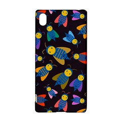 Bees Animal Insect Pattern Sony Xperia Z3+ by Nexatart