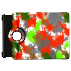 Abstract Watercolor Background Wallpaper Of Splashes  Red Hues Kindle Fire Hd 7  by Nexatart