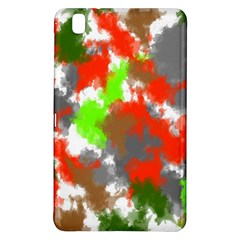 Abstract Watercolor Background Wallpaper Of Splashes  Red Hues Samsung Galaxy Tab Pro 8 4 Hardshell Case