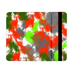 Abstract Watercolor Background Wallpaper Of Splashes  Red Hues Samsung Galaxy Tab Pro 8 4  Flip Case by Nexatart
