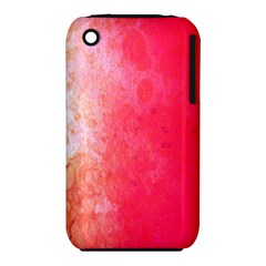Abstract Red And Gold Ink Blot Gradient Iphone 3s/3gs