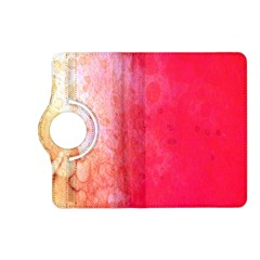 Abstract Red And Gold Ink Blot Gradient Kindle Fire Hd (2013) Flip 360 Case by Nexatart