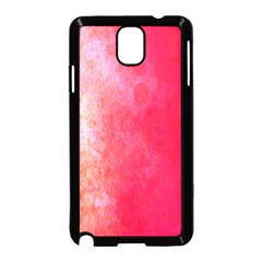 Abstract Red And Gold Ink Blot Gradient Samsung Galaxy Note 3 Neo Hardshell Case (black) by Nexatart
