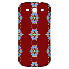 Geometric Seamless Pattern Digital Computer Graphic Wallpaper Samsung Galaxy S3 S Iii Classic Hardshell Back Case by Nexatart