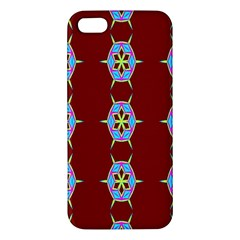 Geometric Seamless Pattern Digital Computer Graphic Wallpaper Apple Iphone 5 Premium Hardshell Case