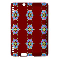 Geometric Seamless Pattern Digital Computer Graphic Wallpaper Kindle Fire Hdx Hardshell Case