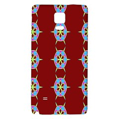 Geometric Seamless Pattern Digital Computer Graphic Wallpaper Galaxy Note 4 Back Case by Nexatart