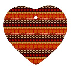 Abstract Lines Seamless Pattern Ornament (heart) by Nexatart