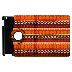 Abstract Lines Seamless Pattern Apple Ipad 3/4 Flip 360 Case by Nexatart