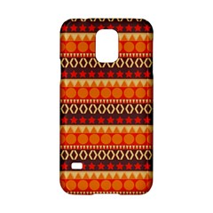 Abstract Lines Seamless Pattern Samsung Galaxy S5 Hardshell Case  by Nexatart