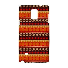 Abstract Lines Seamless Pattern Samsung Galaxy Note 4 Hardshell Case