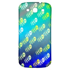 Swarm Of Bees Background Wallpaper Pattern Samsung Galaxy S3 S Iii Classic Hardshell Back Case by Nexatart